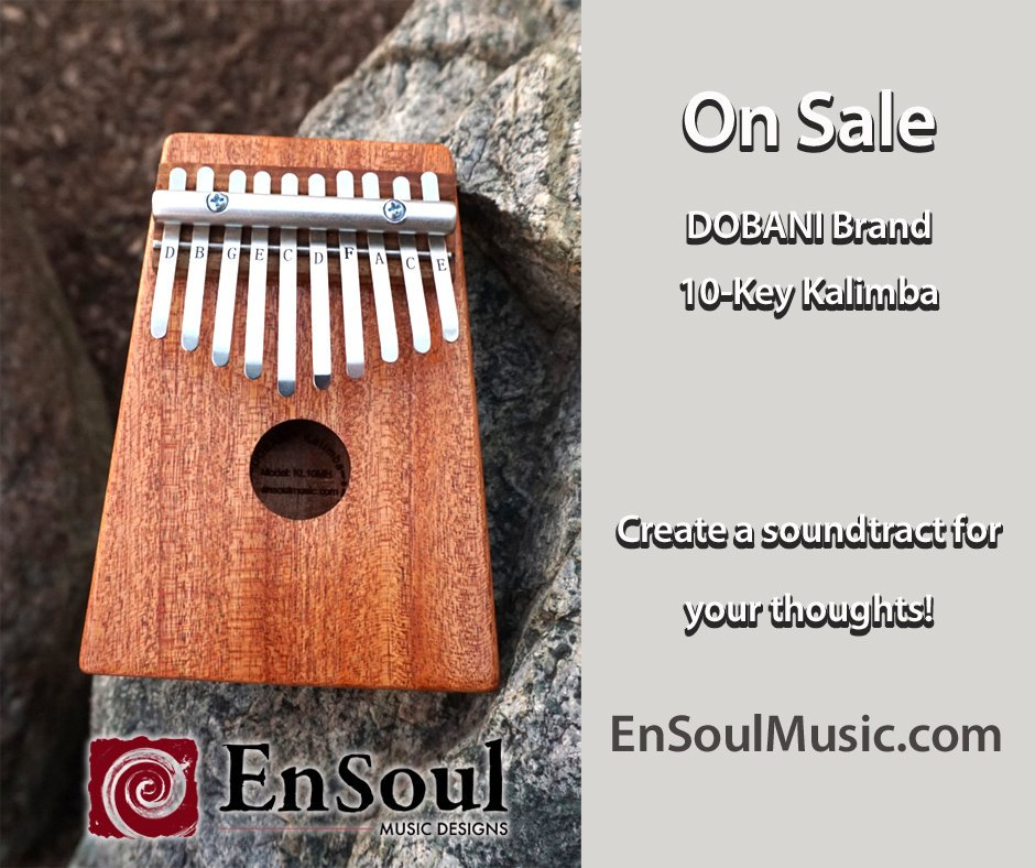 Learn to play an instrument, try the Kalimba, Thumb Piano