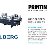 Image for the Tweet beginning: .@HeidelbergNA's new Diana Go 85