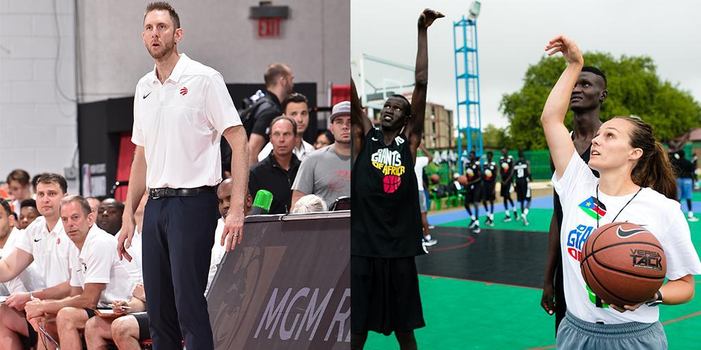 Raptors add Goodwillie & Donaldson to coaching staff. #WeTheNorth Details » rpt.rs/2kDBNnB