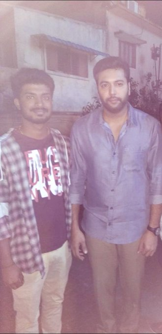 HAPPY BIRTHDAY ILAM PUYAL JAYAM RAVI ANNA      Jayam ravi