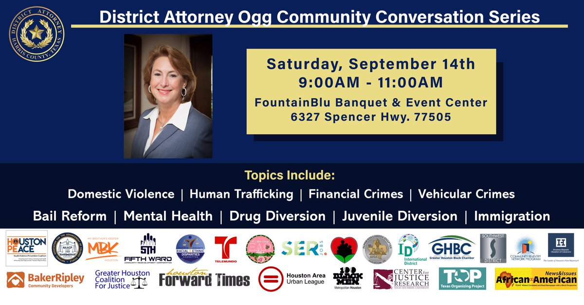 Join us this Saturday in Pasadena for our next community conversation!