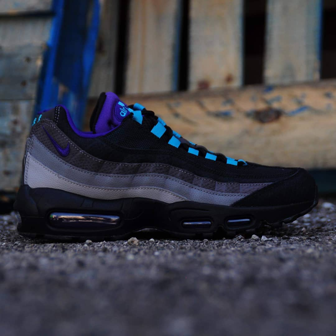 "the best attitude 472a2 e04c6 Fall 2019 Collection Nike Air Max 95 ""Black Grape"