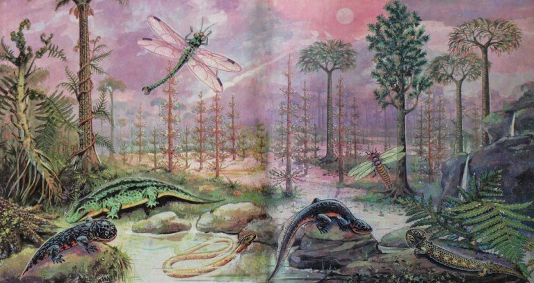 палеозойская эра с картинками сегодняшний день