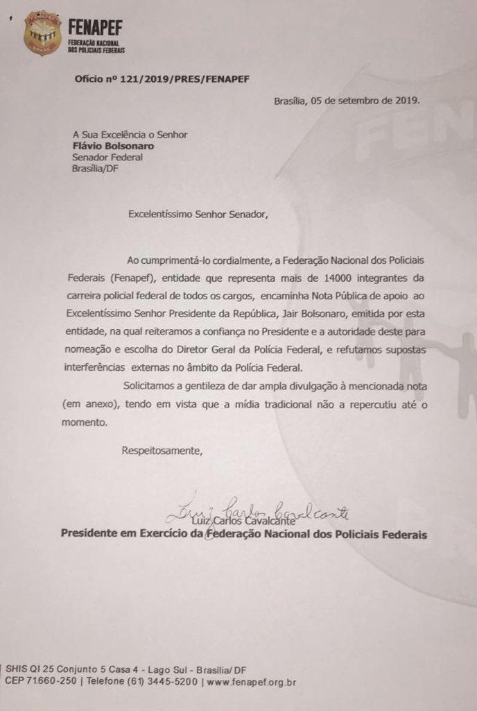 - EECI sBWkAAEV1d format jpg name medium - Federação de Policiais Federais reforça autoridade de Bolsonaro e nega interferências externas na PF