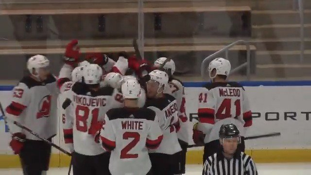 Image for the Tweet beginning: OT WIN! @MikeyMcLeod9 sets up