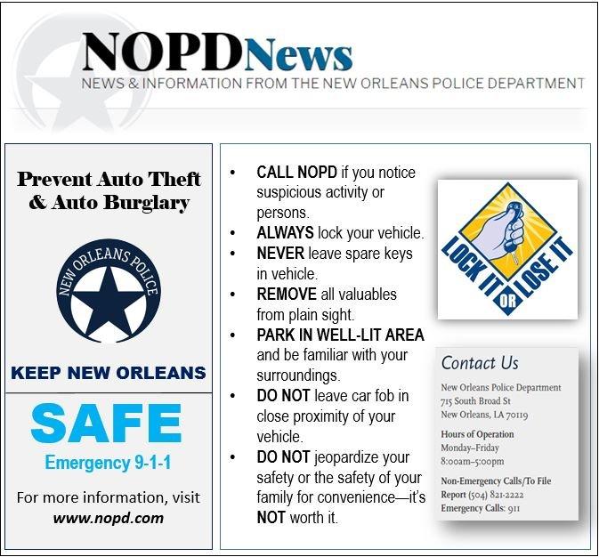 NOPD on Twitter: