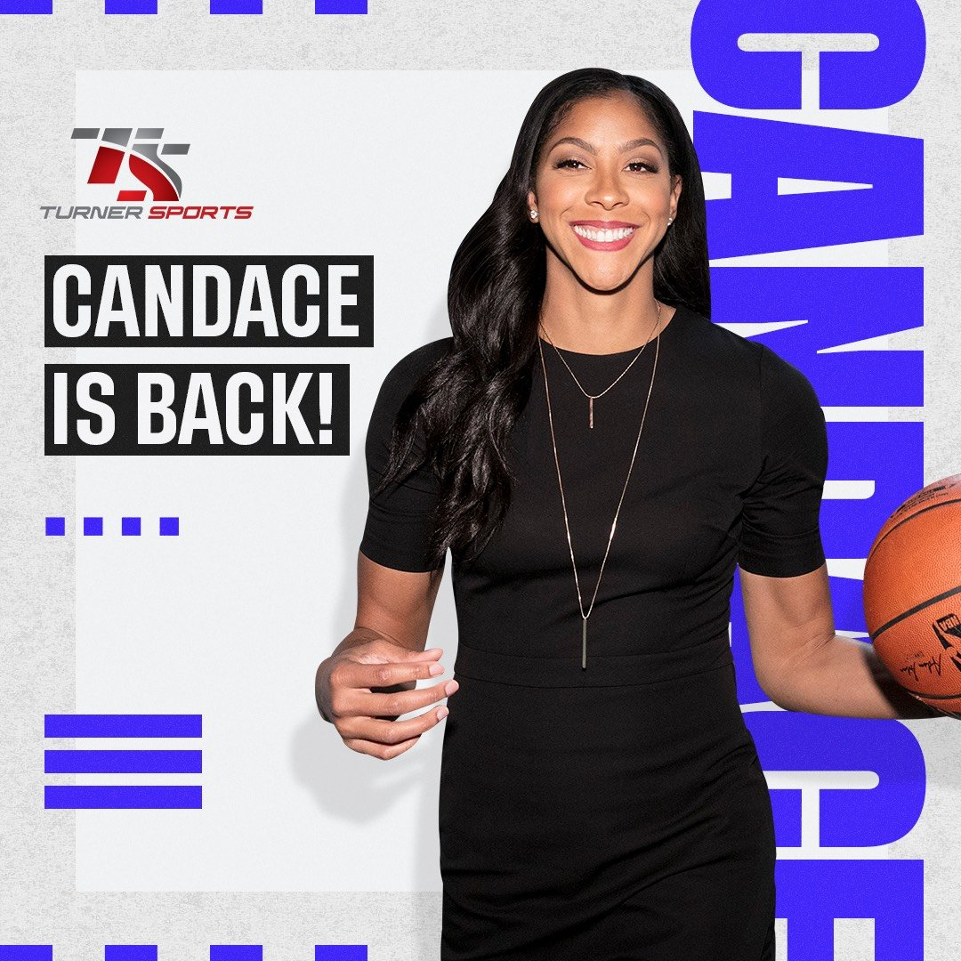 Candace Parker extends her NBA and NCAA analyst deal with Turner Sports. The WNBA star from Naperville also wi