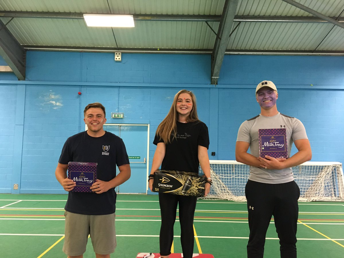 A huge welcome to our new @SportRehab_ students today with some fun activities. Nice to see some familiar faces leading the teams to victory! Looking forward to more fun and games tomorrow @YourStMarys @StMarysSHAS