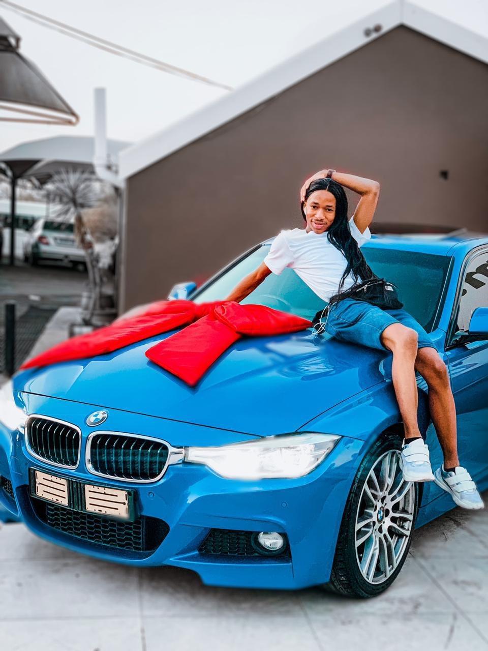 New Wheels Alert! Lasizwe Blesses Himself With A New BMW Car - OkMzansi