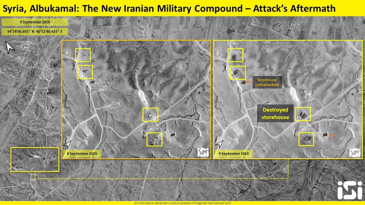 سوريا.. انفجارات بالبوكمال استهدفت مقرات لميليشيات عراقية EECaa2bXsAIAuE5