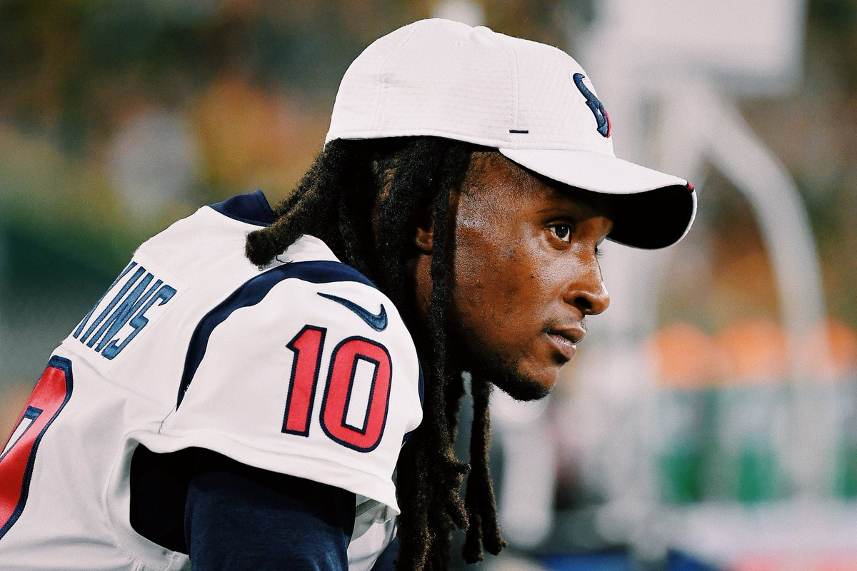 "Browse and download photos/videos added by @brgridiron .@DeAndreHopkins wrote down his season goals on the Texans weight room wall. He's coming for history.  Signed: ""D-Hop, b---h""  (via @MikeGarafolo, @gmfb) 