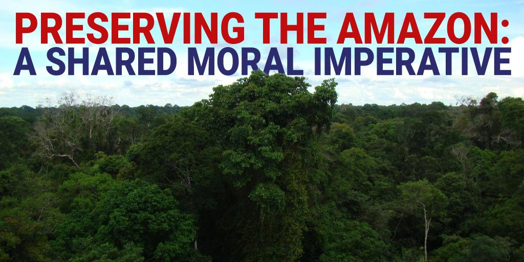 TOMORROW AT 10 AM: Our Western Hemisphere Subcommittee holds a hearing on preserving the world's largest tropical rainforest. #ActForAmazonia  TUNE IN:  https:// foreignaffairs.house.gov/2019/9/preserv ing-the-amazon-a-shared-moral-imperative   … <br>http://pic.twitter.com/VLspYoCOZa