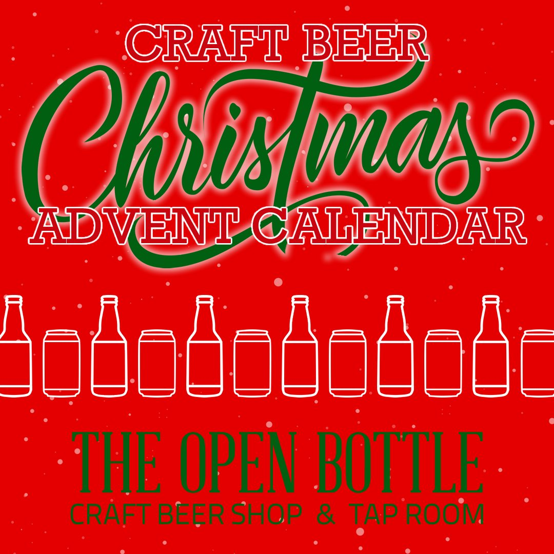 Open For Christmas Orders.The Open Bottle On Twitter Tis The Season For Our Craft