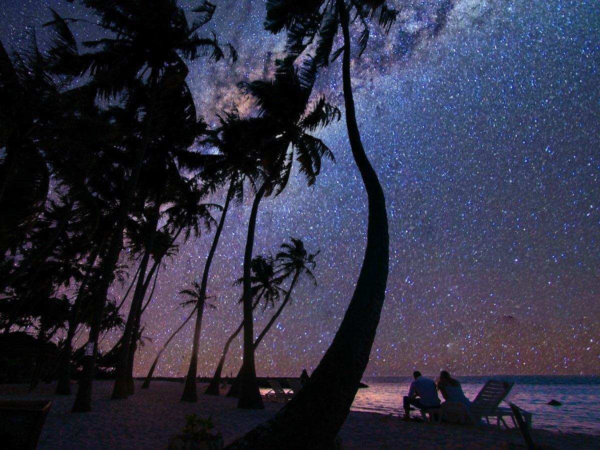 фон картинки ночь на острове любви при