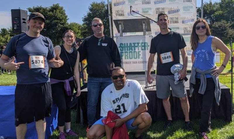 It was a beautiful weekend in Chicago for Kineo US to support the @ShatterproofHQ Rise Up Against Addiction 5K Walk/Run! #Shatterproof5KChicago #WeAreShatterproof