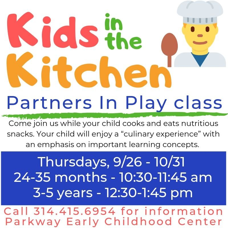 Parents, Grandparents & other caretakers are welcome! @ParkwaySchools