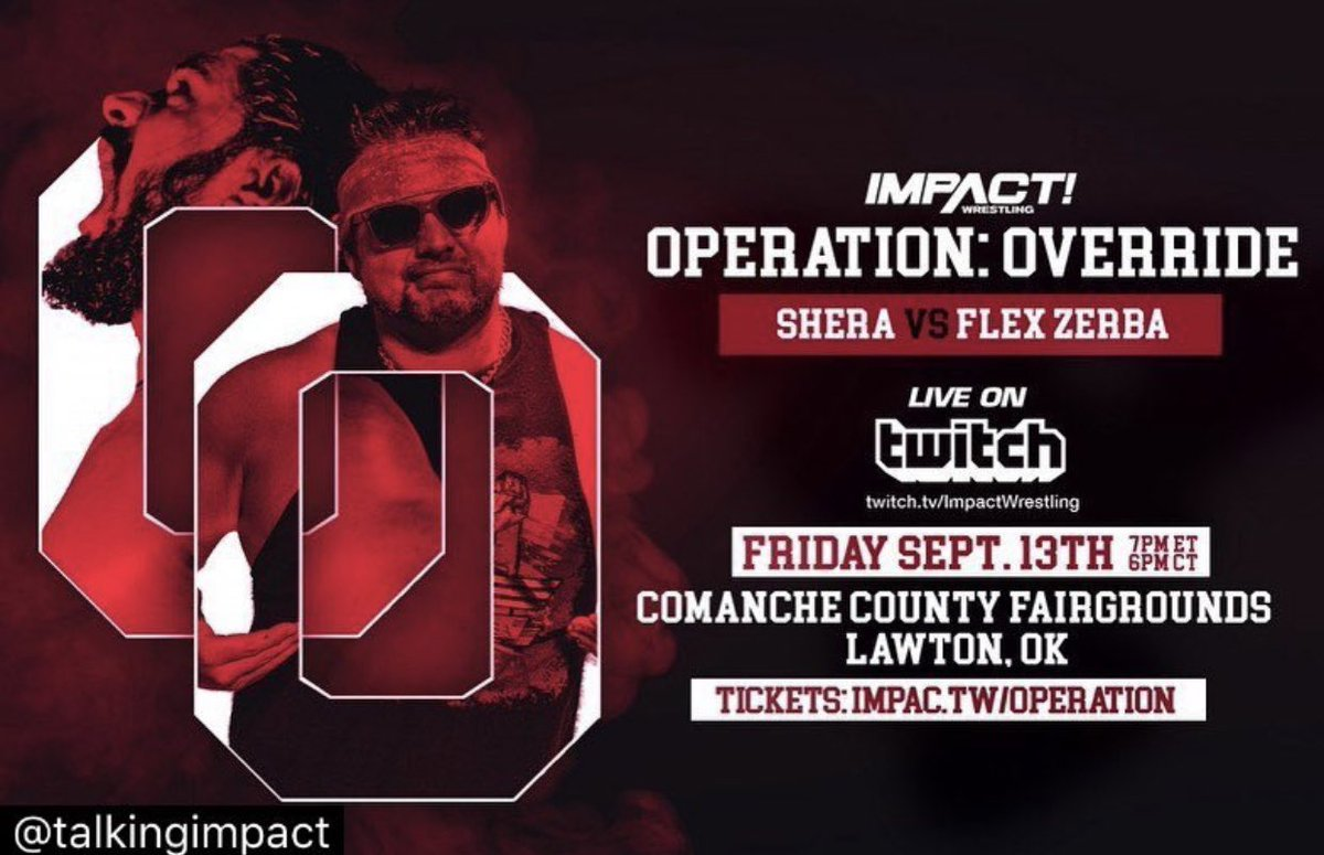Watch TNA Impact Wrestling Operation Override 2019 9/14/19