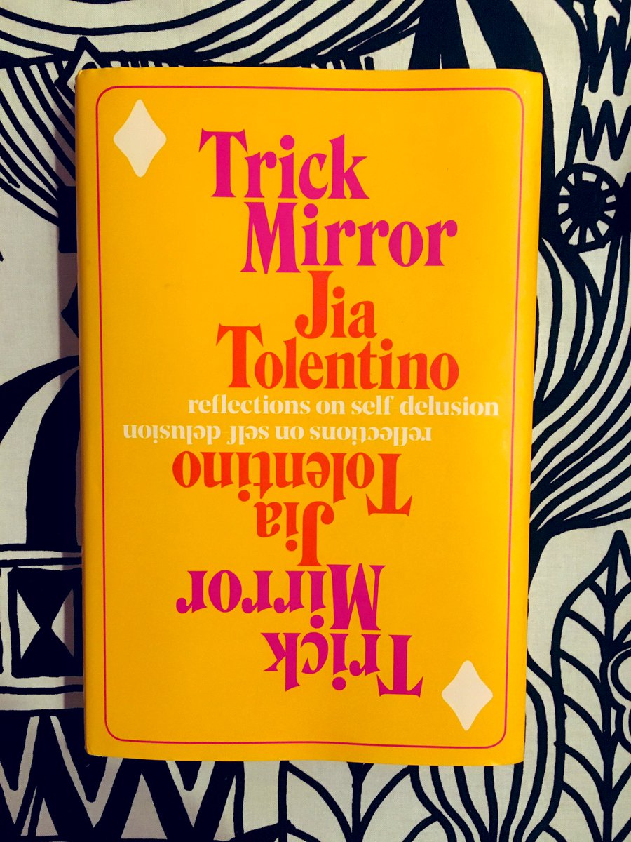 Not that @jiatolentino needs boosting from me, but I just finished Trick Mirror and it is staggeringly good.