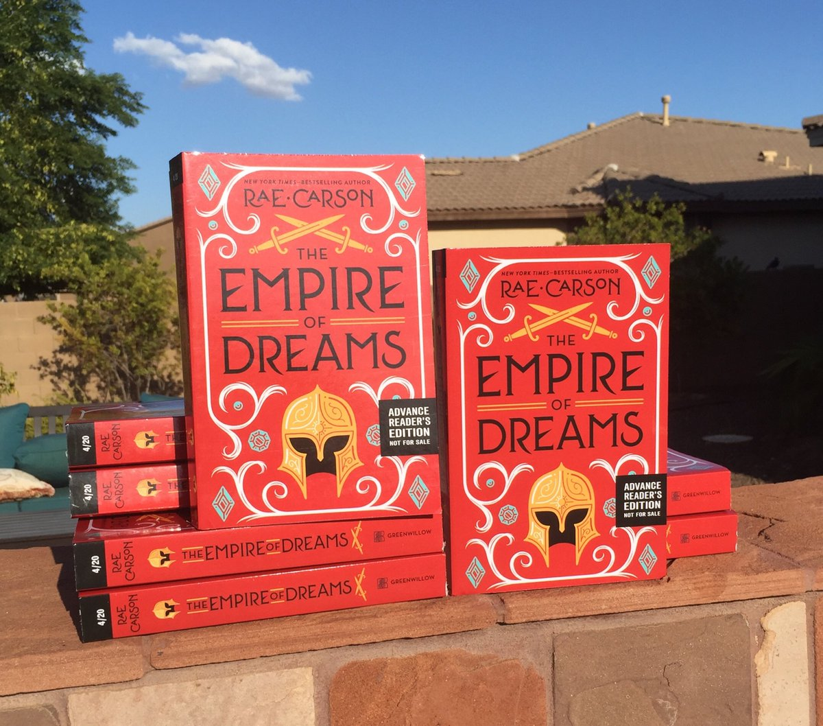 The Empire Of Dreams Red