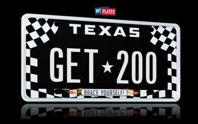 My Plates Texas >> Myplates Com On Twitter Race Fans Can Get Instant Savings