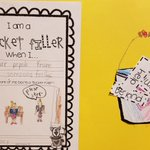 Image for the Tweet beginning: 1st graders read the book