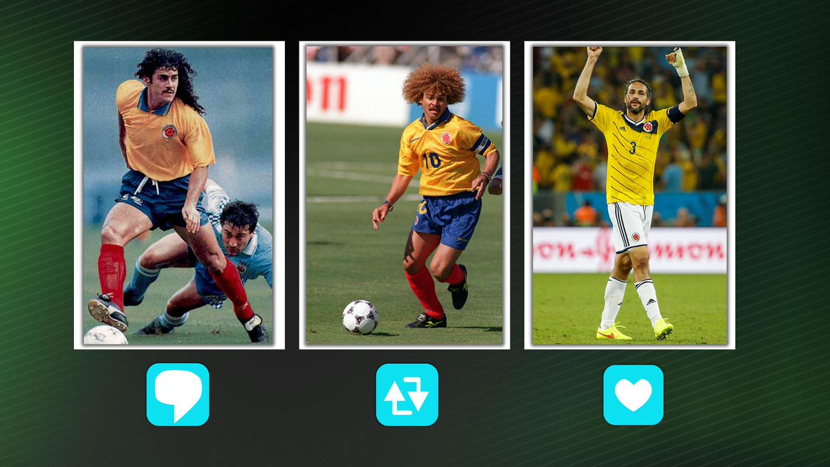 ¿A cuál de estos históricos te gustaría ver en la Selección de hoy? #ESPNFColombiaVota así: .💬  Por  Leonel Álvarez🔄  Por Pibe Valderrama❤  Por Mario Yepes