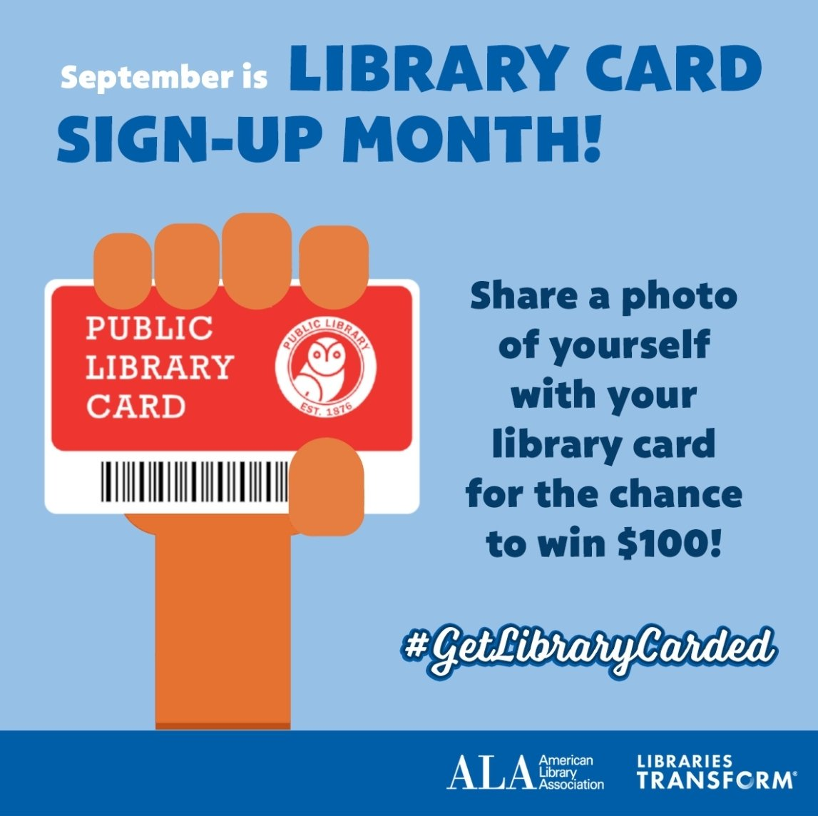 Here in US, this month is #LibraryCardSignUpMonth! Visit your local library and sign up for a new card, you might even win a $100! The contest is for US residents only. Good luck! 😊 [🐨] @BTS_twt #BTSARMY #BTSBookClub