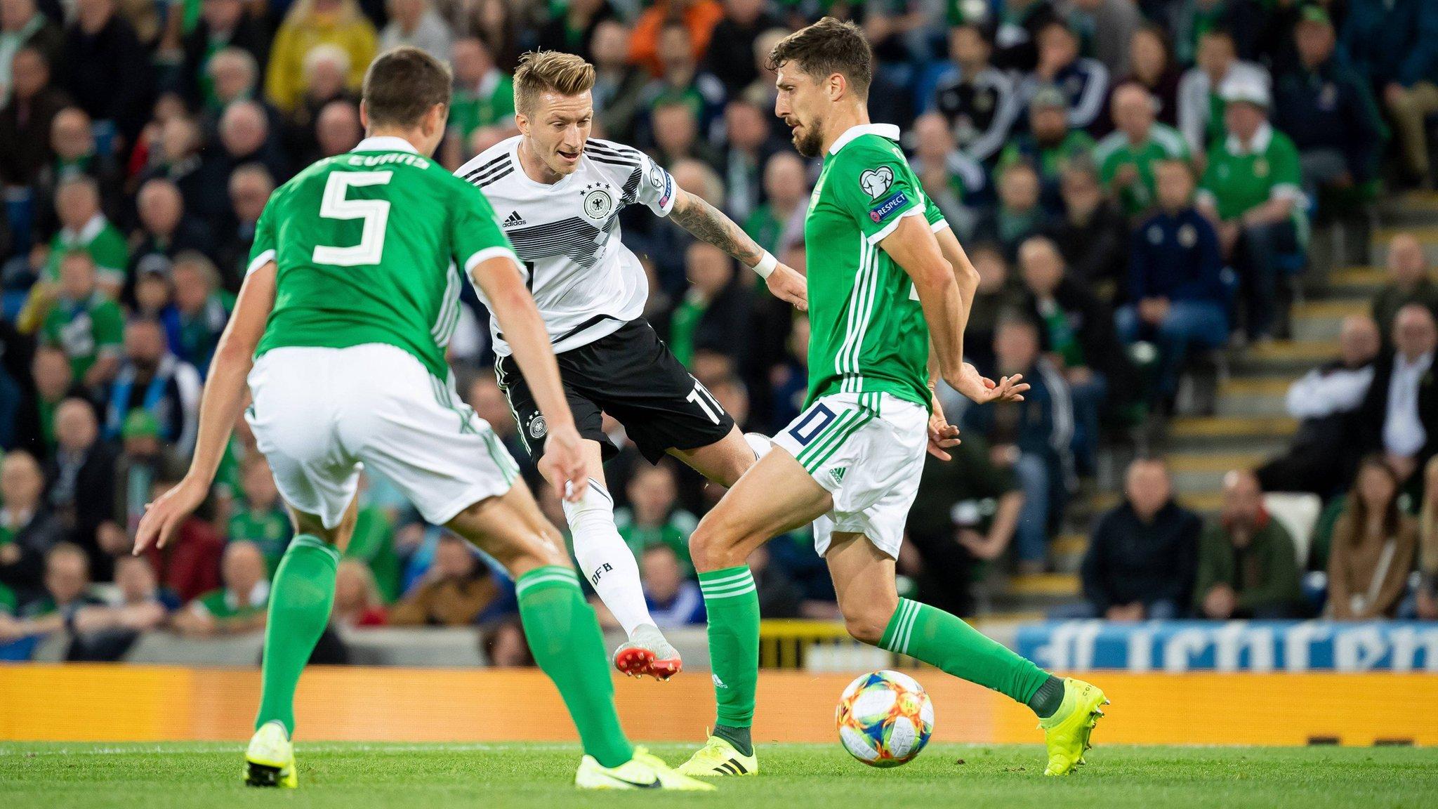 المانيا تحقق فوز ثمين على إيرلندا الشمالية بتصفيات كأس الأمم الأوروبية 2020