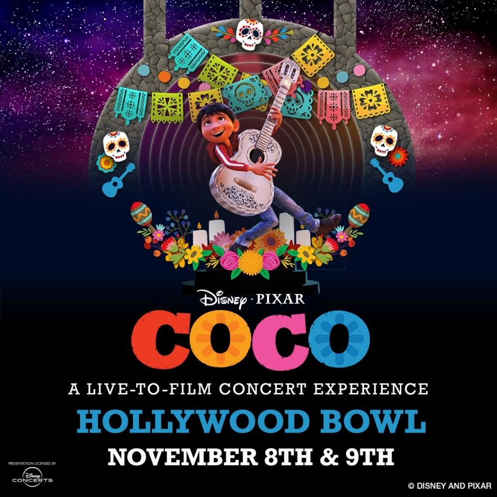 Seize the moment and join Walt Disney Records for a #PixarCoco live-to-film concert experience November 8 and 9 at the Hollywood Bowl. Pre-sale starts tomorrow, and tickets will be on sale Friday, September 13 at 12 p.m. PT. 💛🎶http://di.sn/6014ECD7p