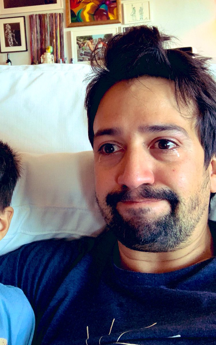 Lin Manuel Miranda On Twitter Rookie Mistake Watching Toy Story 3 With Your Son The Week He Starts School He Was Fine Me Less So