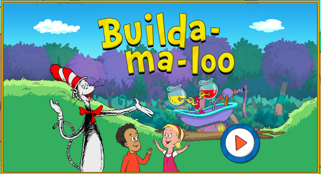 Can your kids invent their own painting devices and create masterpieces? Find out with Builda-ma-loo! In this game from The Cat in the Hat Knows a Lot About That!, kids explore science, engineering and art and practice creativity and problem-solving! pbskids.org/catinthehat/ga…