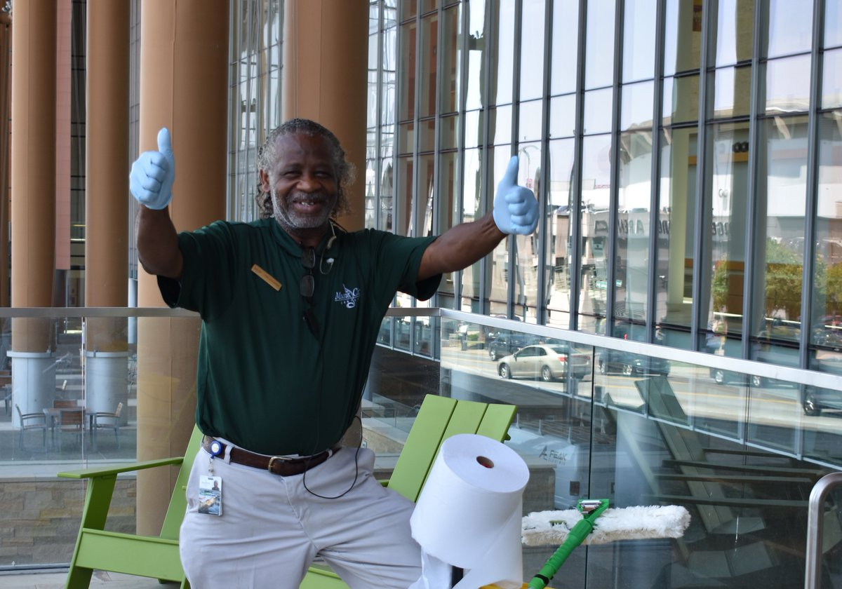 Happy International #Housekeeping Week! Thank you to our great team at MCC who keep us shining!