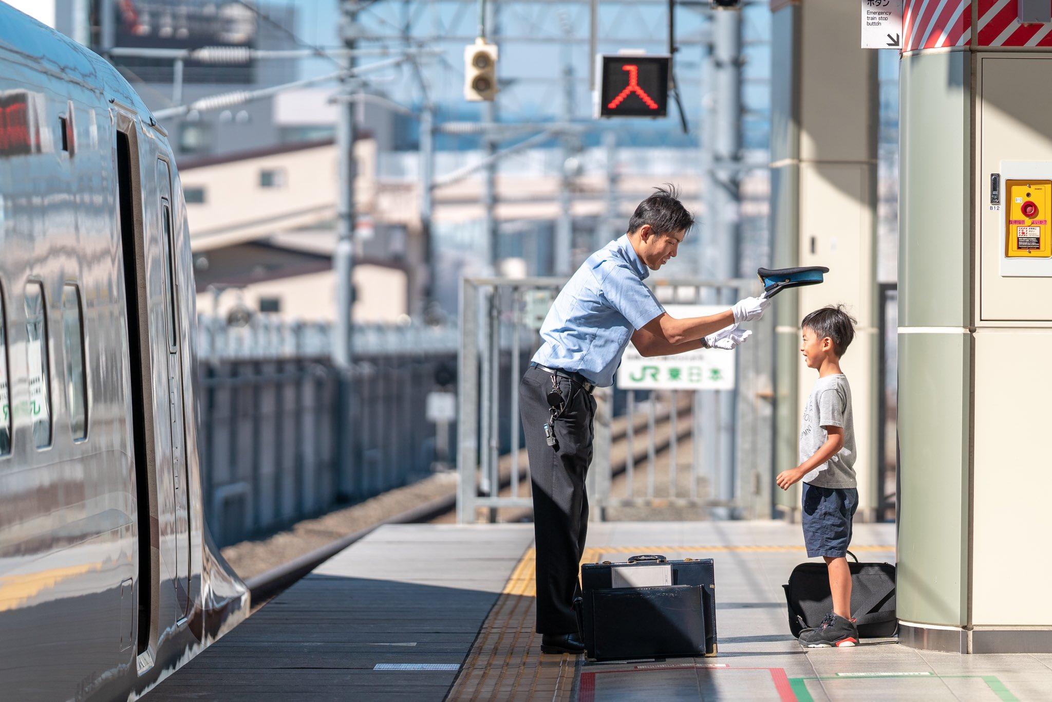 JRの神対応に心が癒される…新幹線大好きな息子さんの笑顔が眩しい!!