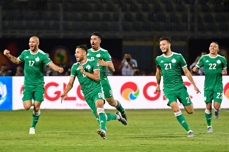 اول انتصار لمنتخب الجزائر بعد الكان على حساب بنين في مباراة ودية