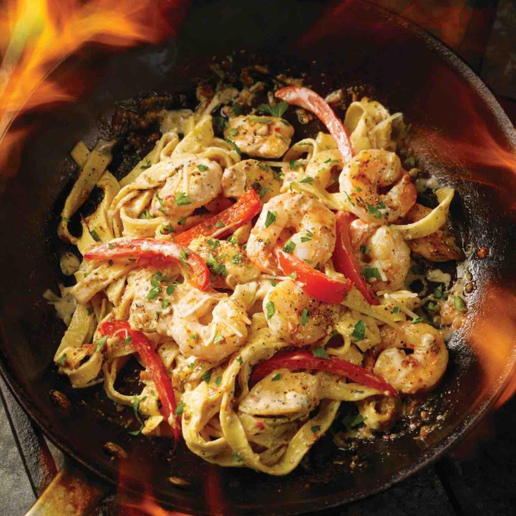 Fridays Cajun Shrimp And Chicken Pasta Recipe