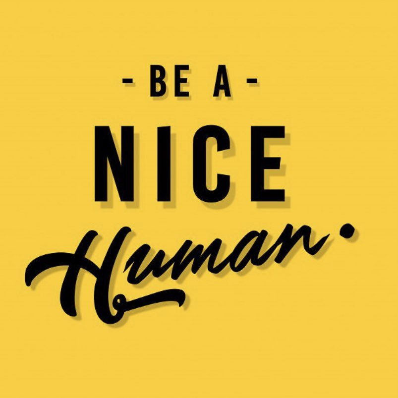 Just be nice- what a difference it can make. #benice #celebratEd @MelissaRathmann right!