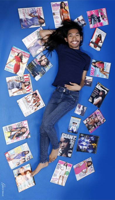 Wearing Jennifer Hudson\ s SOHO jeans with some of my collection.  Happy 38th bday!