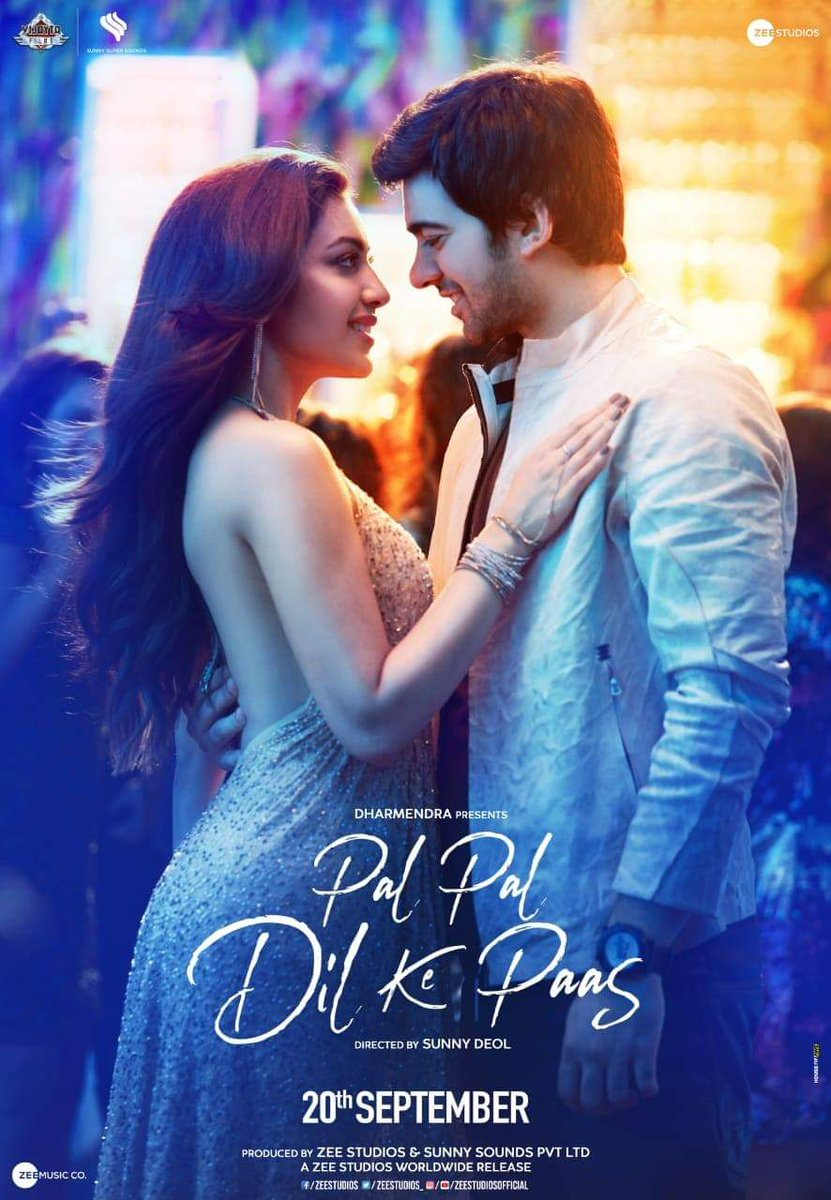 Pal Pal Dil Ke Paas (2019) Hindi WEB-HD 1080p 720p 480p x264 DD2.0 | Full Movie | Download | Watch Online