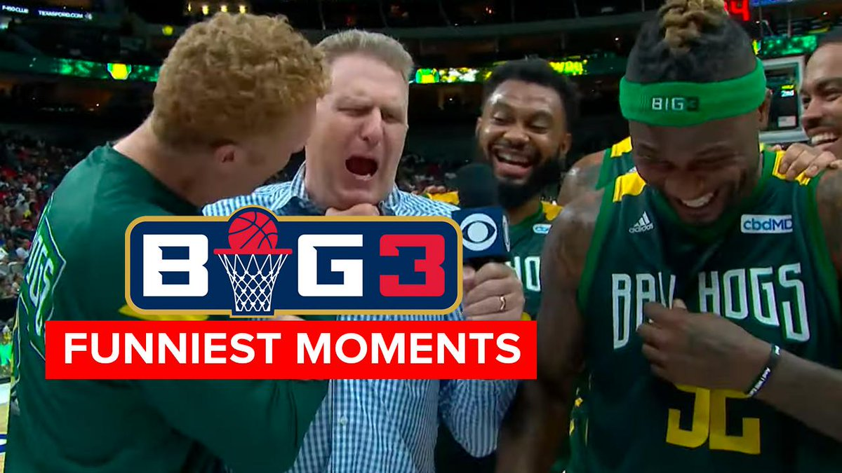 BIG3 BIG Laughs! The funniest moments of Season 3 😂😂😂