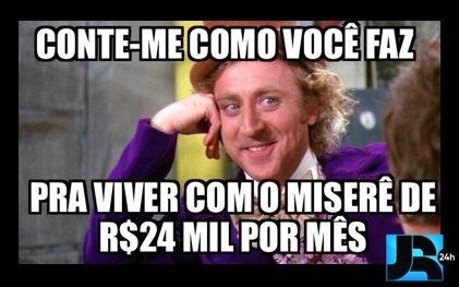 """Procurador diz que salário de R$24 mil é """"miserê"""" e internet não perdoa"""