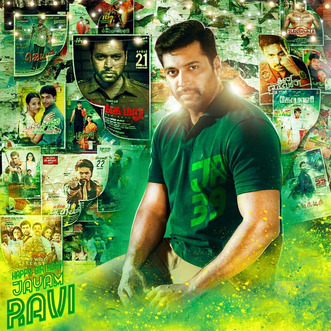 I WISH YOU HAPPY BIRTHDAY TO YOU JAYAM RAVI