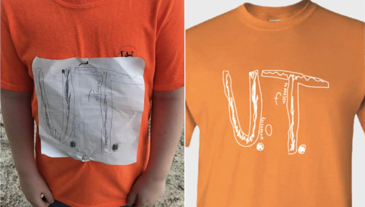 After a Florida kid got mocked by classmates for his homemade @UTKnoxville t-shirt, the university not only sent him some legit merch, but put his version into production w proceeds going to @STOMPOutBullyng. Demand crashed their online shop within hours 🙂cnn.com/2019/09/07/us/…