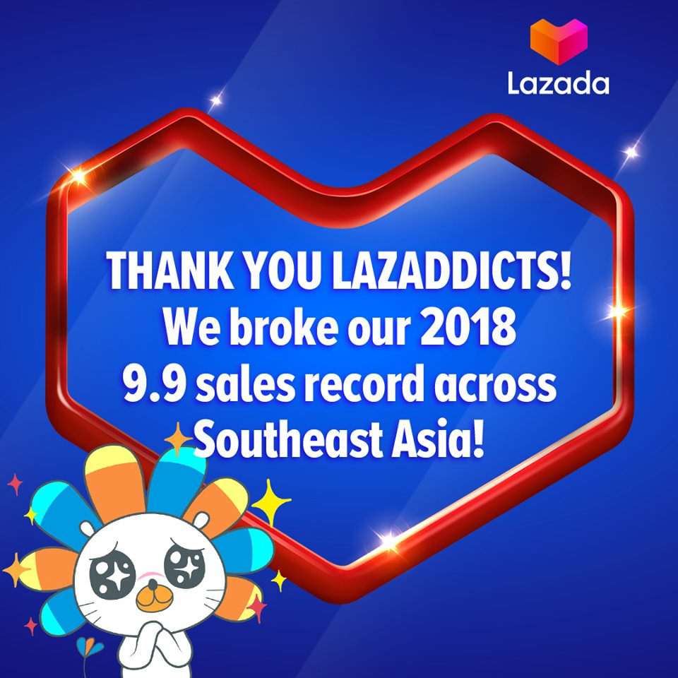 Thank you for breaking records with us and making Lazada's 9.9 Big Discovery Sale a huge success, Lazaddicts!   We hope that you discovered every side of you last night and enjoyed the 9 Million deals up to 90% OFF! #Lazada99 #DiscoverWithLazada #LazadaPH99<br>http://pic.twitter.com/Usy1p4cIYh
