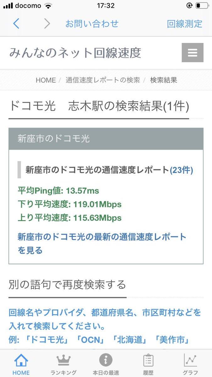 速度 比較 インターネット