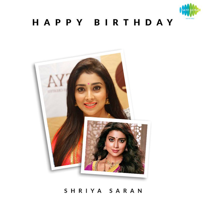 Wishing the very elegant and graceful Shriya Saran a very happy birthday!