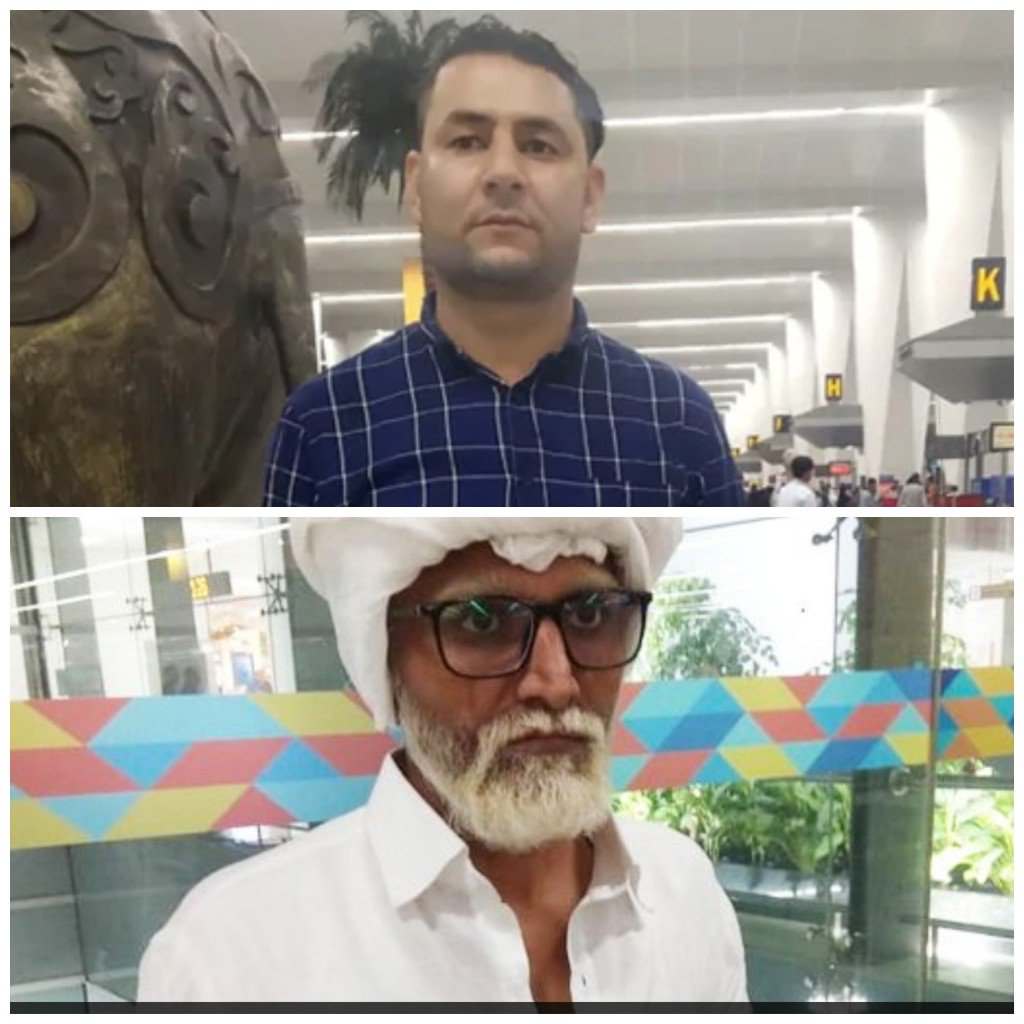 Ahmedabad based 32-year old man caught at Delhi airport while trying to fly to New York as 81-year old man