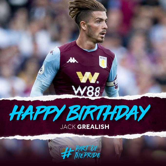 Happy birthday jack grealish