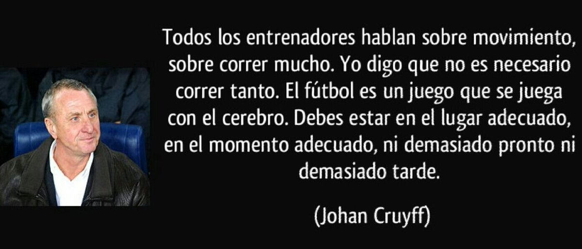 Futbol Por Las Venas On Twitter Frases De Johan Cruyff 2