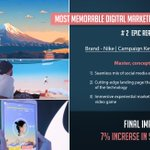 Image for the Tweet beginning: 🔥MOST MEMORABLE DIGITAL MARKETING CAMPAIGNS-2018 Year
