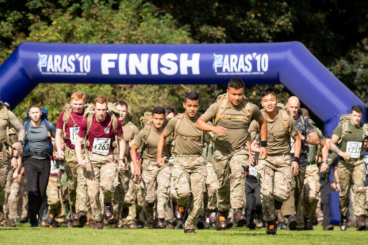 Scenes from the PARAS10 Tab start at Catterick. Entries for 2020 open on Thursday. Photo Sgt Donald Todd